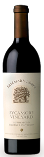 Freemark Abbey Cabernet Sauvignon Sycamore Vineyard 2011...